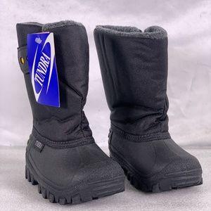 Toddler Boy's Tundra Teddy 4 Snow Boots - Black